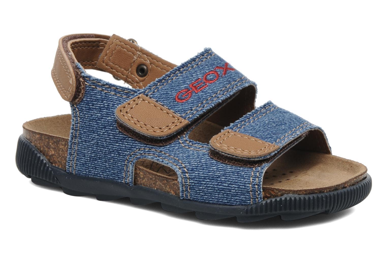 Sandales et nu-pieds Geox J S.STORM B Bleu vue détail/paire