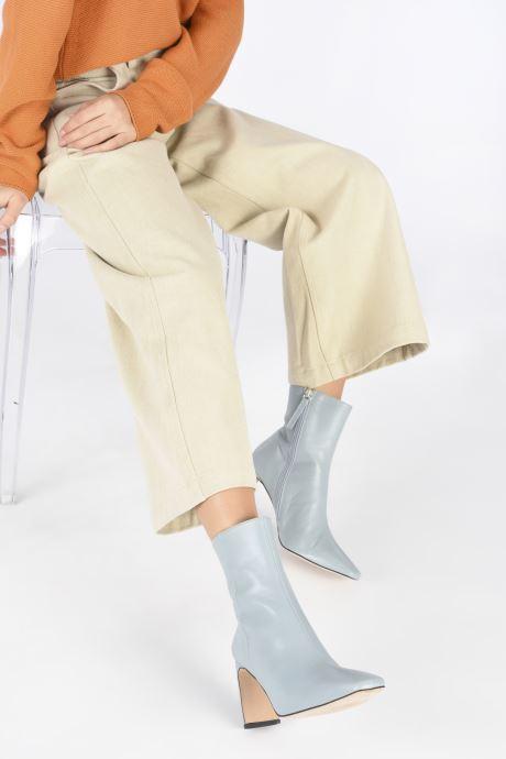 Stiefeletten & Boots Georgia Rose Alexia blau ansicht von unten / tasche getragen