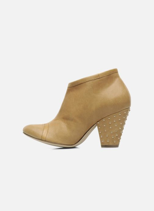 Ankle boots Bocage FLINAO Beige front view