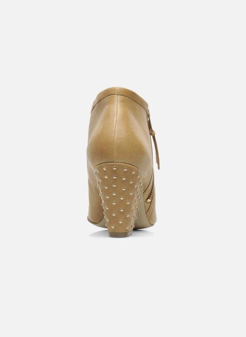 Bottines et boots Bocage FLINAO Beige vue droite