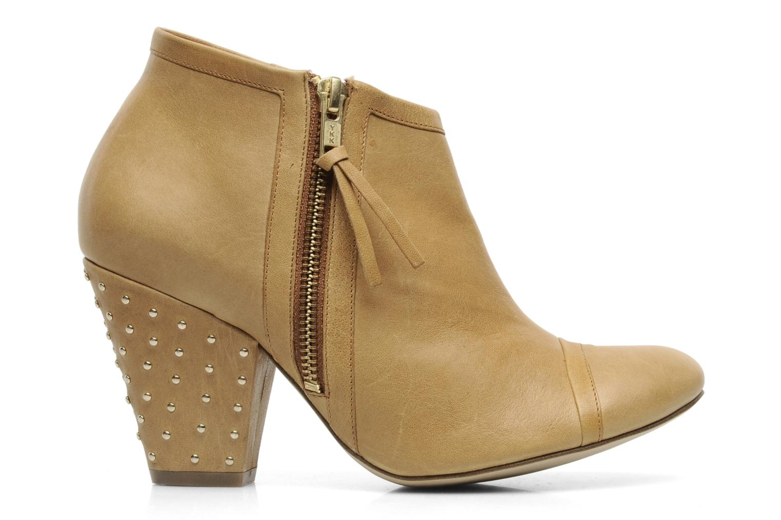 Ankle boots Bocage FLINAO Beige back view