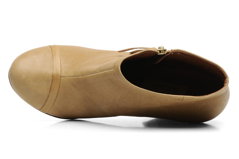 Bottines et boots Bocage FLINAO Beige vue gauche