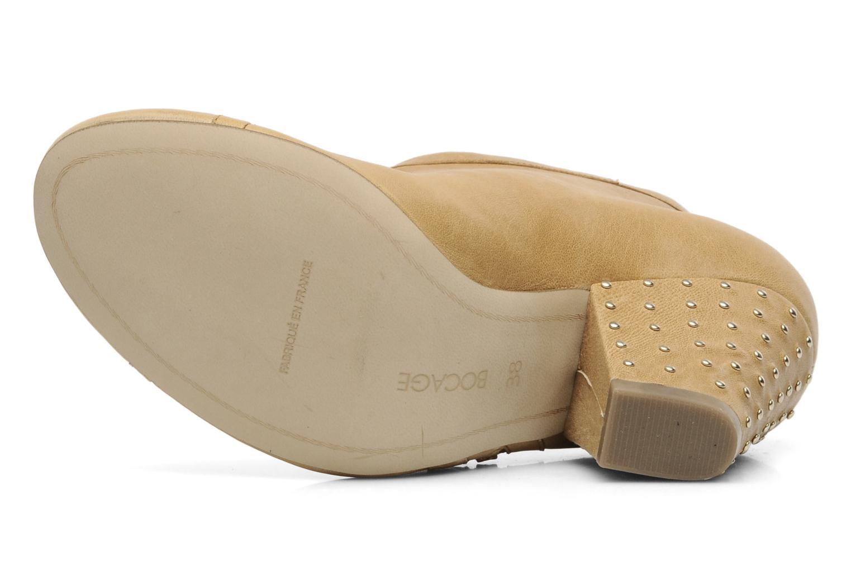 Bottines et boots Bocage FLINAO Beige vue haut