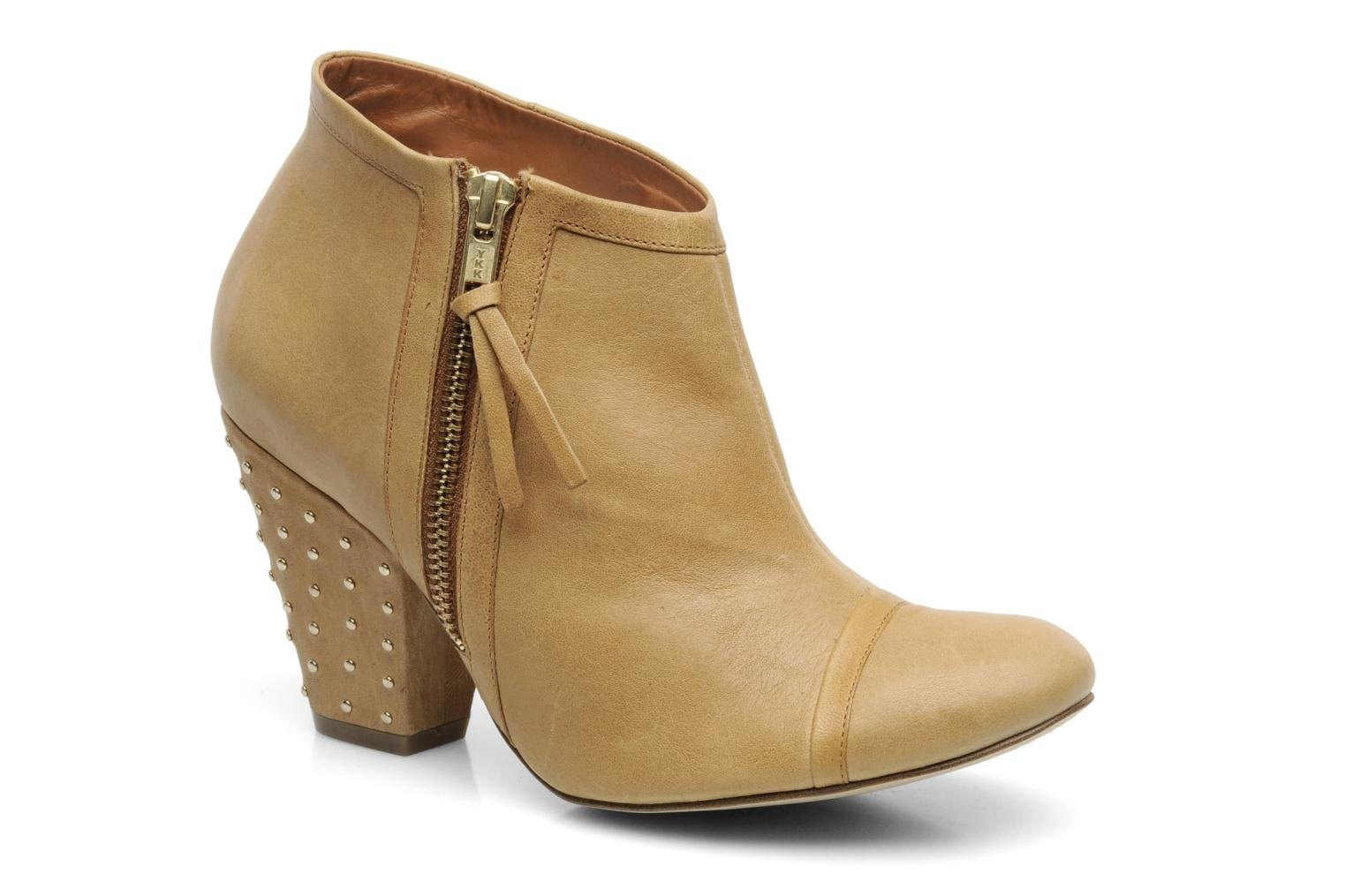 Ankle boots Bocage FLINAO Beige detailed view/ Pair view
