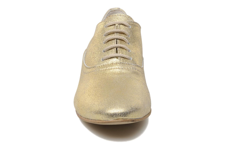 Chaussures à lacets Georgia Rose Lalla Or et bronze vue portées chaussures