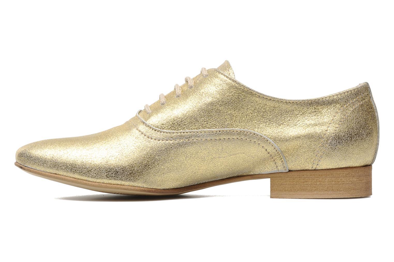 Chaussures à lacets Georgia Rose Lalla Or et bronze vue face