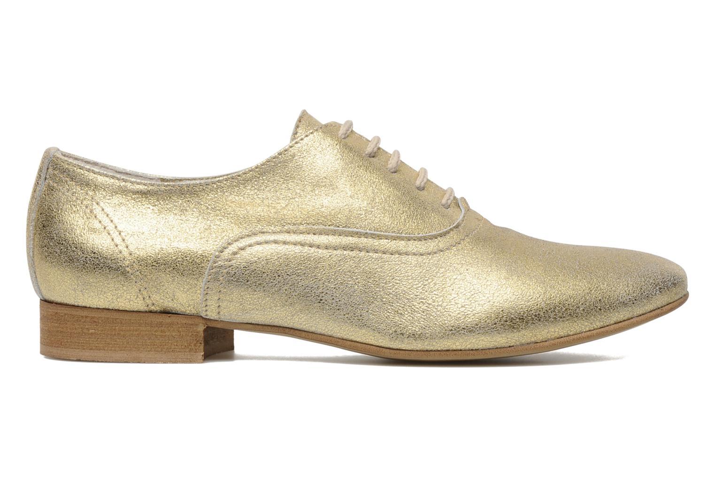 Chaussures à lacets Georgia Rose Lalla Or et bronze vue derrière