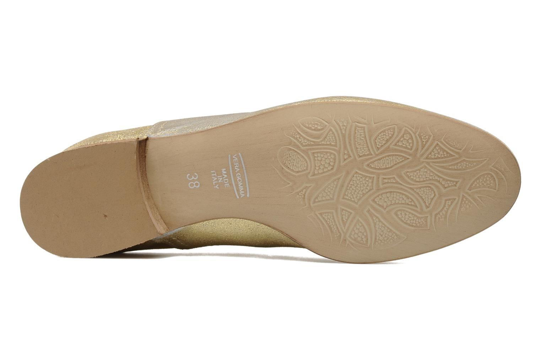 Chaussures à lacets Georgia Rose Lalla Or et bronze vue haut