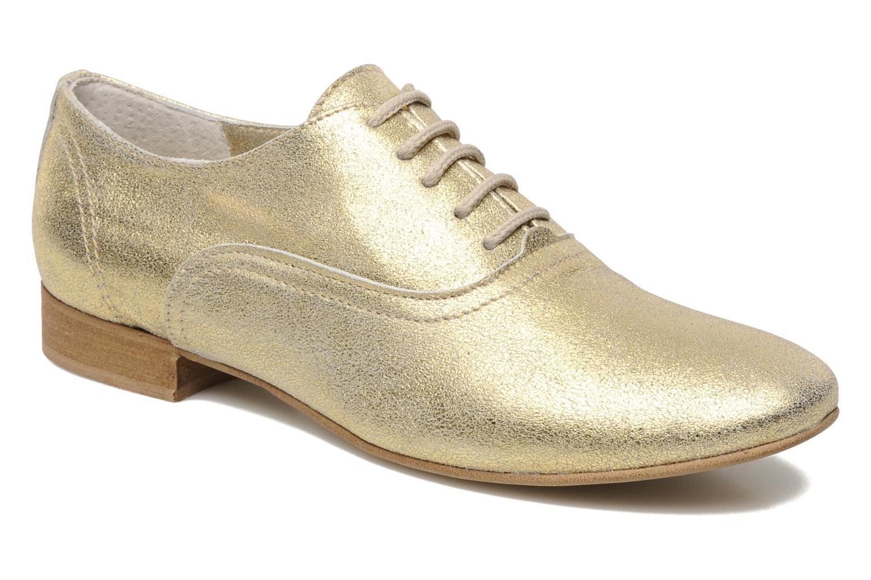 Chaussures à lacets Georgia Rose Lalla Or et bronze vue détail/paire