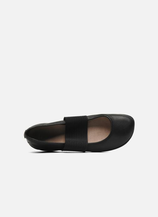 Ballet pumps Camper Right Nina 21595 Black view from the left