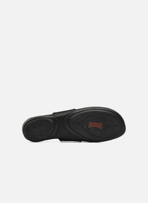 Ballet pumps Camper Right Nina 21595 Black view from above