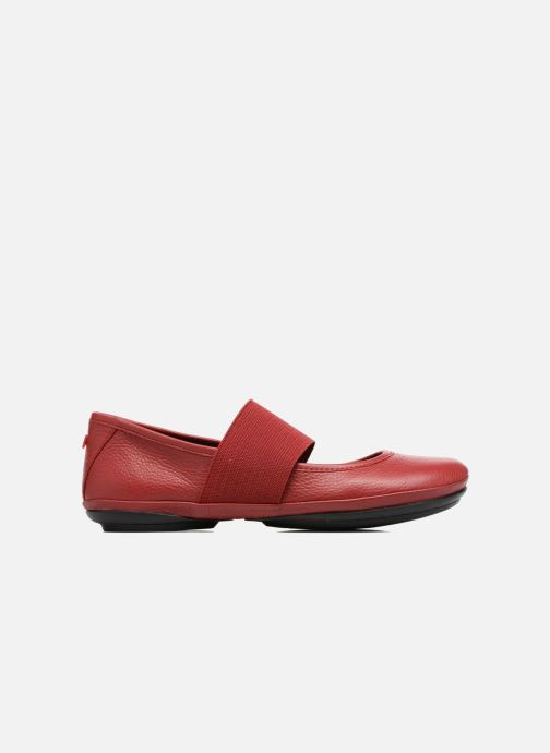 Ballet pumps Camper Right Nina 21595 Red back view