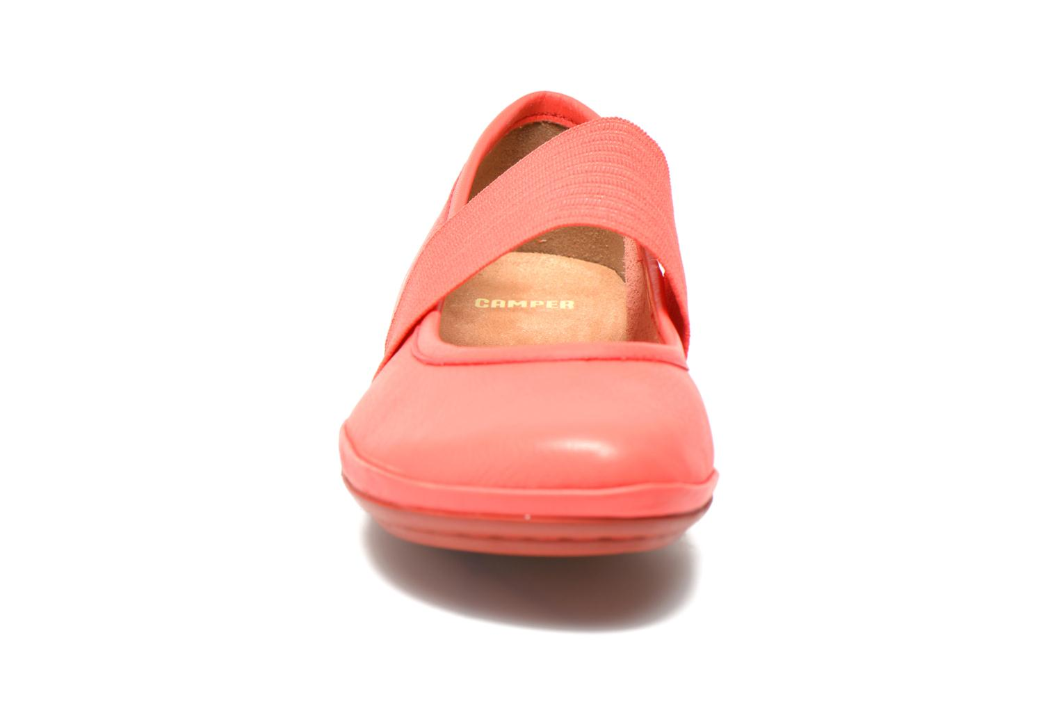 Ballerines Camper Right Nina 21595 Rose vue portées chaussures