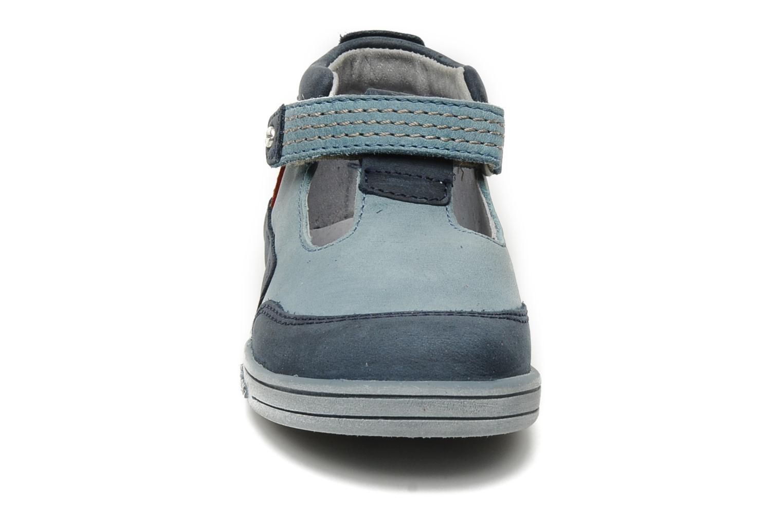 Sommersko Kickers Transat Blå se skoene på