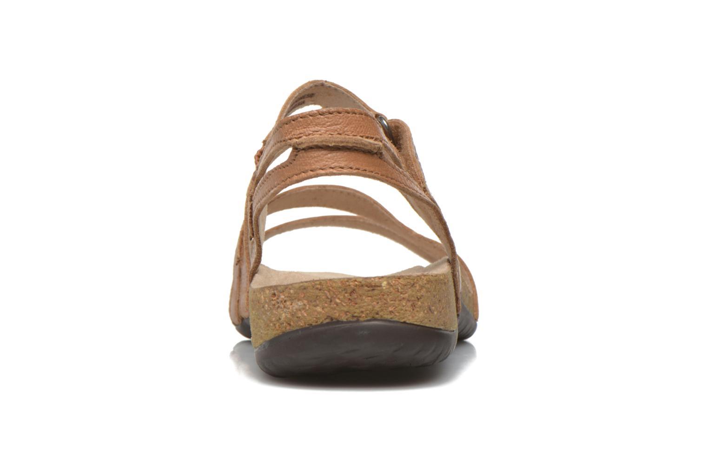 Sandales et nu-pieds TBS Belice Marron vue droite