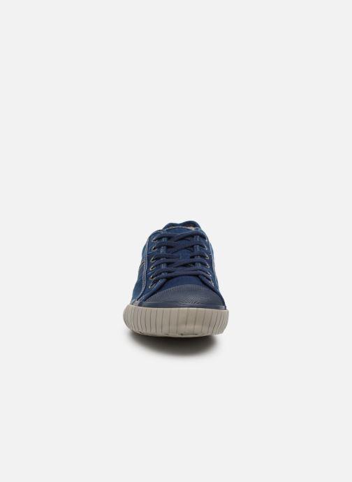 Sneaker TBS Crocky braun schuhe getragen