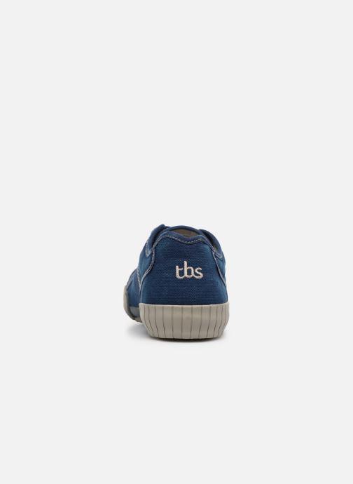Sneaker TBS Crocky braun ansicht von rechts