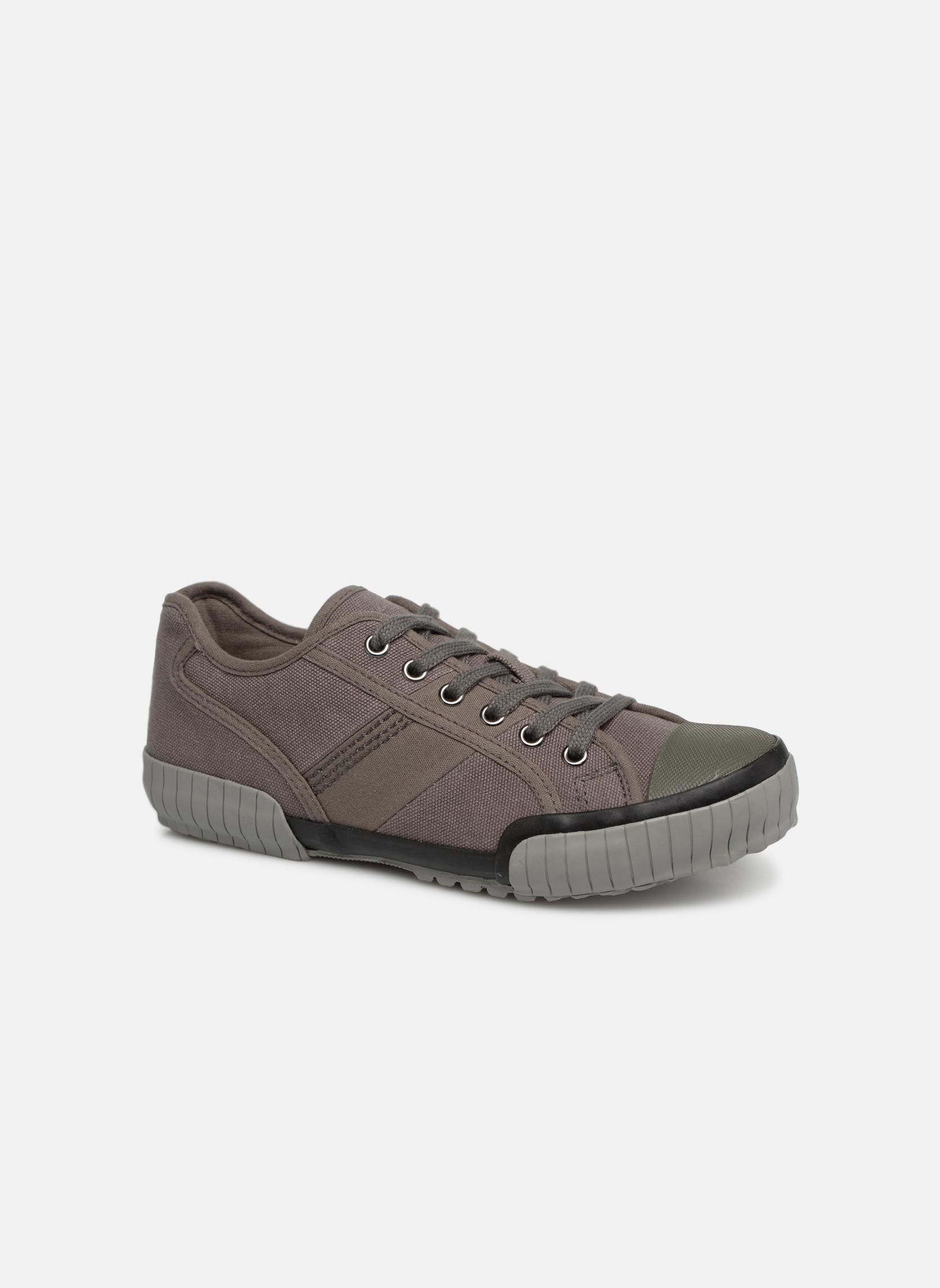 Sneakers TBS Crocky Grå detaljeret billede af skoene