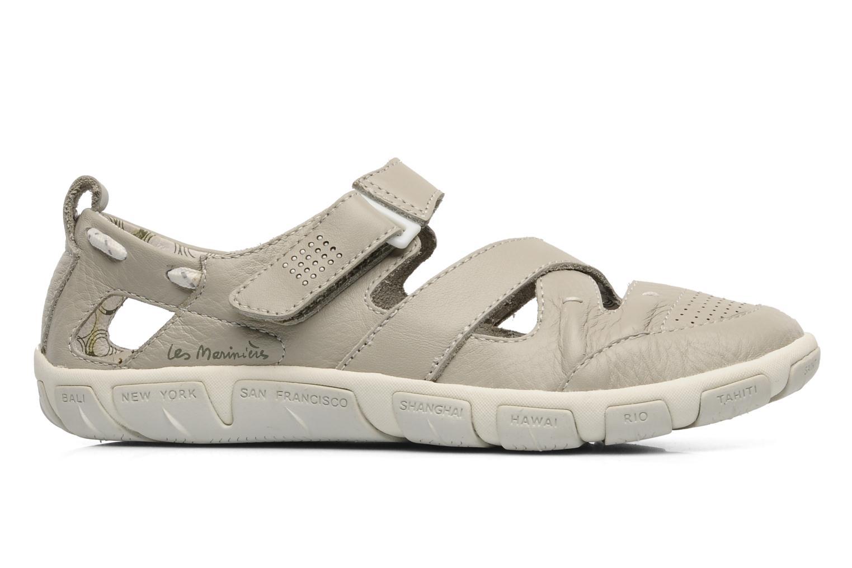 Sandaler TBS Juline Beige bild från baksidan