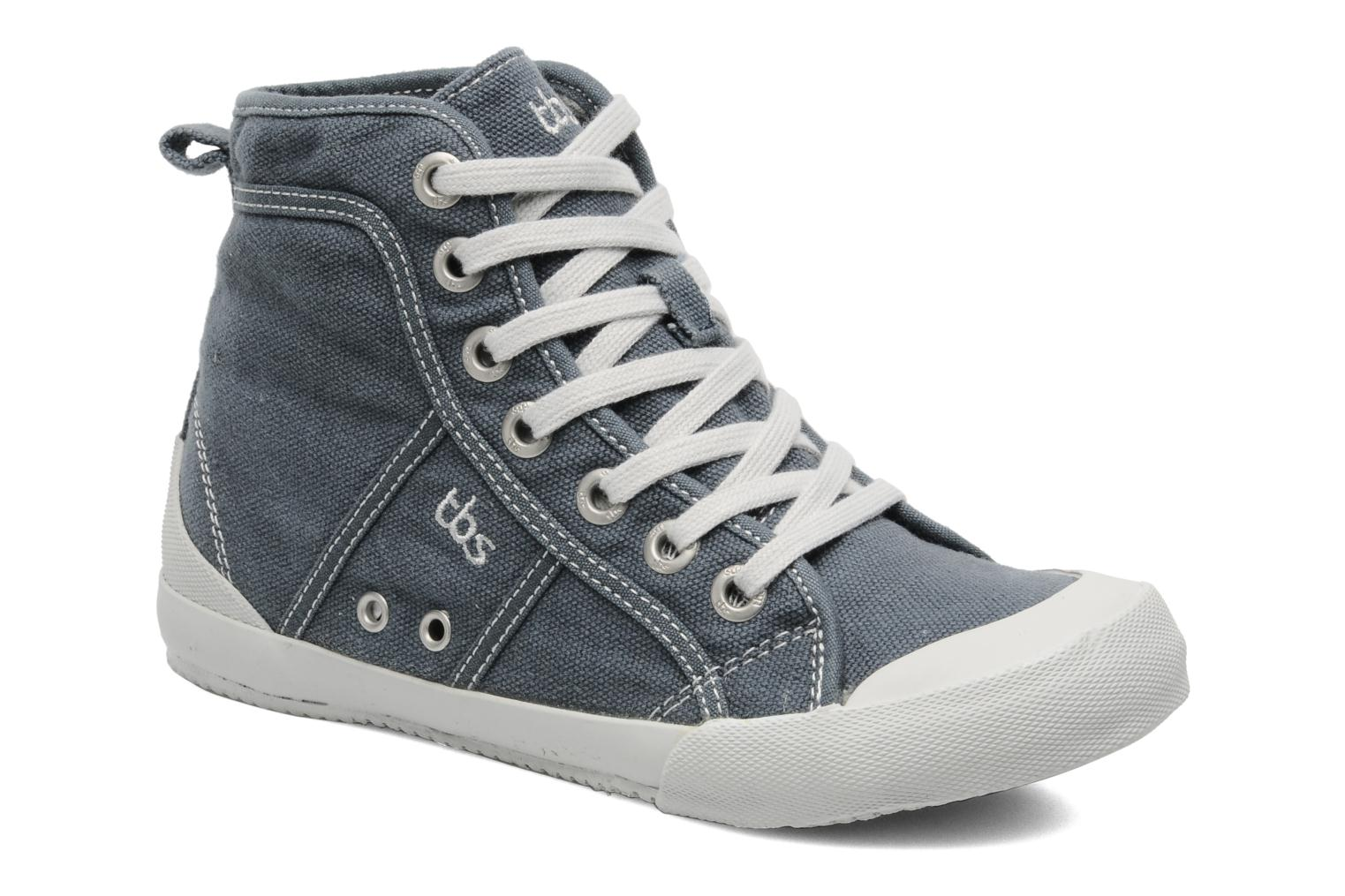 Trainers TBS Obelia Grey detailed view/ Pair view