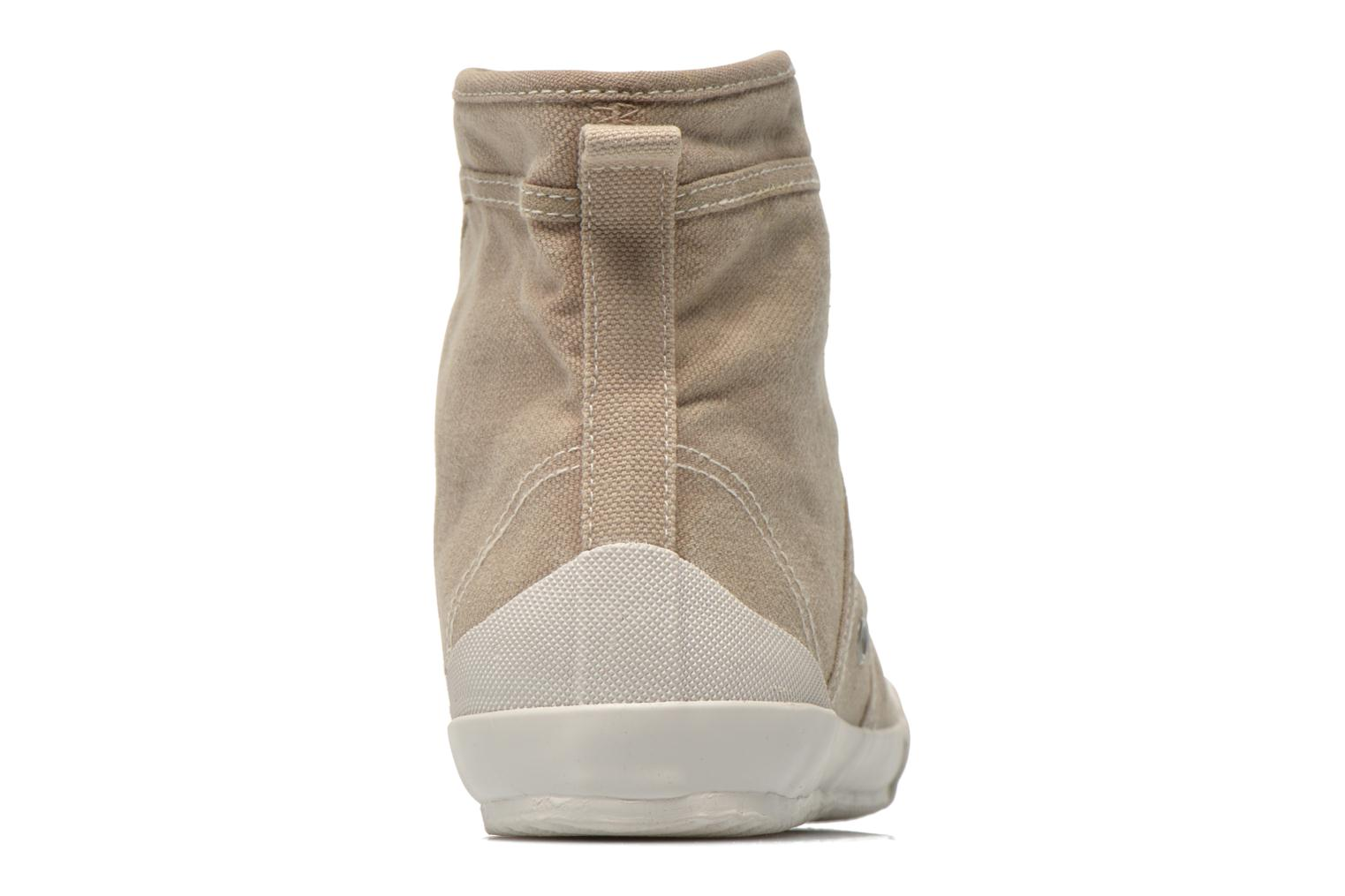 Trainers TBS Obelia Beige view from the right