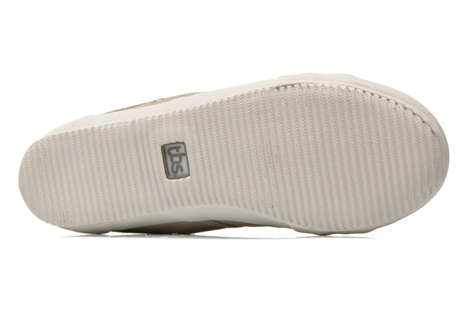 Trainers TBS Obelia Beige view from above