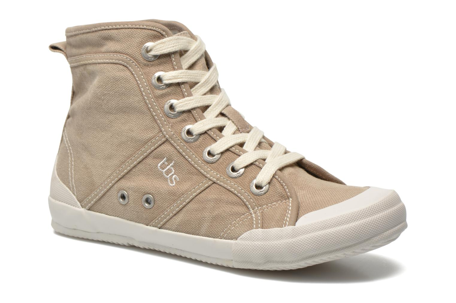 Trainers TBS Obelia Beige detailed view/ Pair view