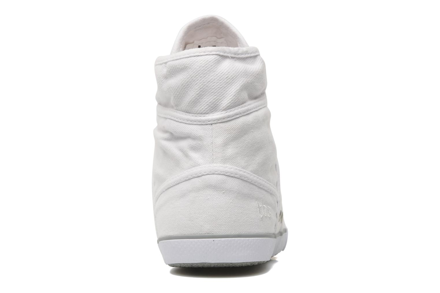 Trainers TBS Veluta White view from the right