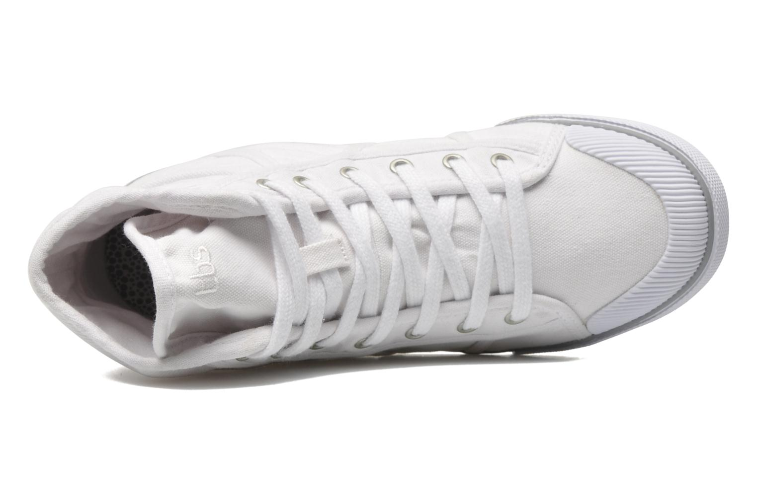 Trainers TBS Veluta White view from the left