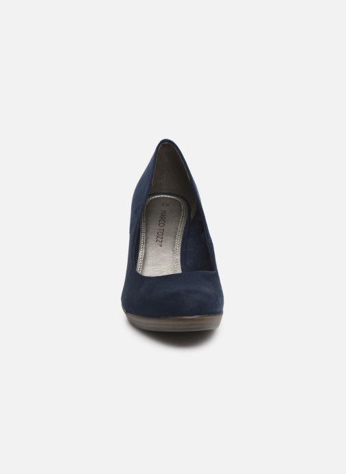 Escarpins Marco Tozzi Soe Bleu vue portées chaussures