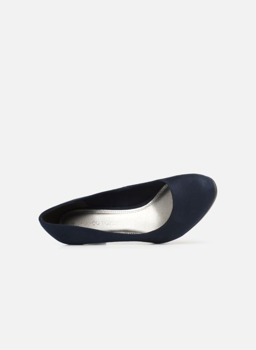 Pumps Marco Tozzi Soe Blauw links