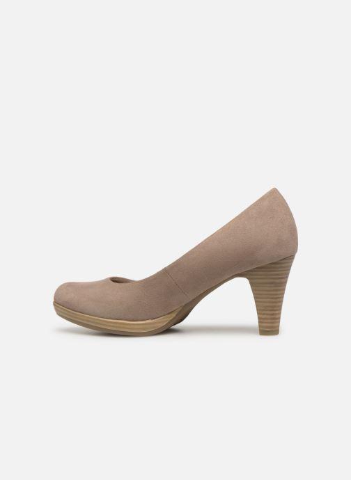 Zapatos de tacón Marco Tozzi Soe Beige vista de frente