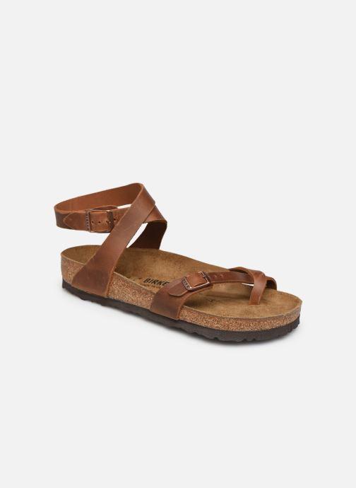 Sandali e scarpe aperte Birkenstock Yara Cuir W Marrone vedi dettaglio/paio
