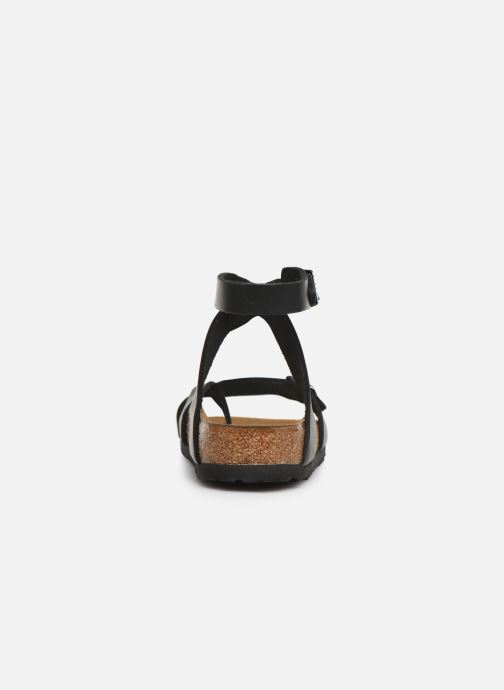 Sandali e scarpe aperte Birkenstock Yara Cuir W Nero immagine destra