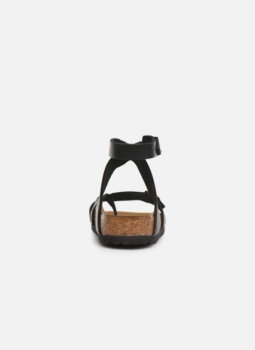 Sandales et nu-pieds Birkenstock Yara Cuir W Noir vue droite