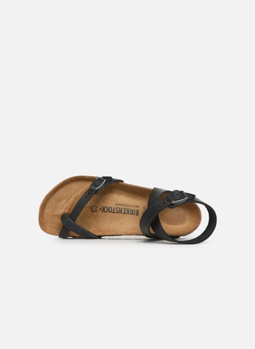 Sandales et nu-pieds Birkenstock Yara Cuir W Noir vue gauche