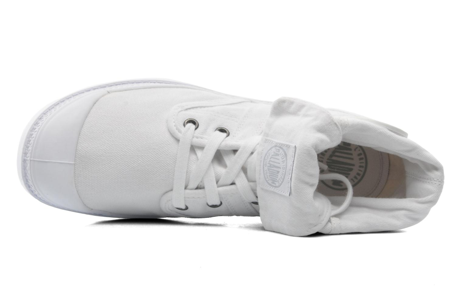 Baskets Palladium Baggy CVS f Blanc vue gauche