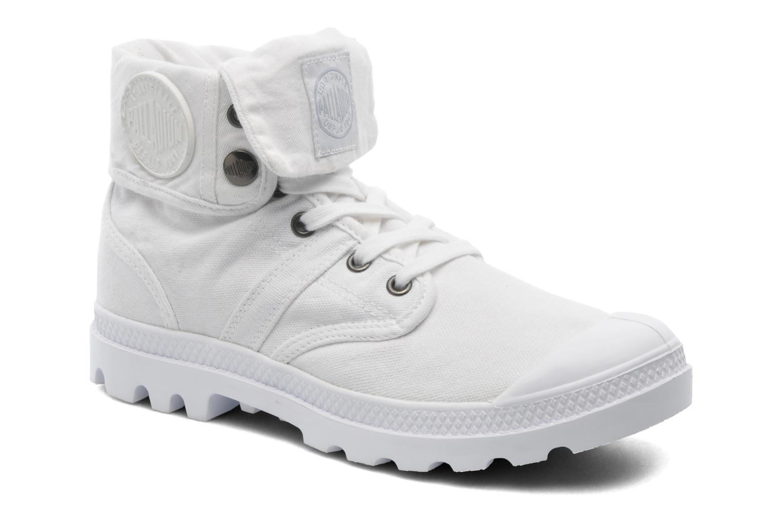 Baskets Palladium Baggy CVS f Blanc vue détail/paire