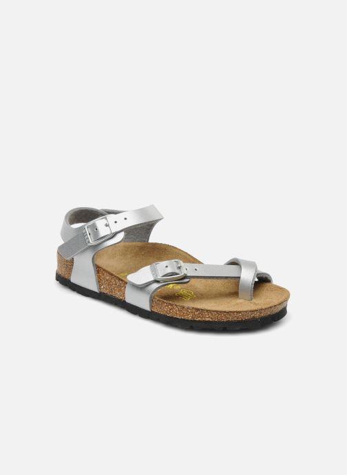 d34020dd1ef Birkenstock Taormina Birko-Flor (Silver) - Sandals chez Sarenza (134811)