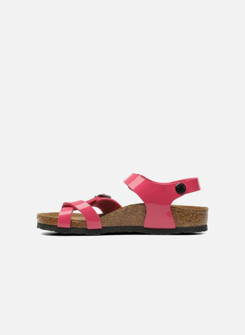 Sandales et nu-pieds Birkenstock Taormina Birko-Flor Rose vue face