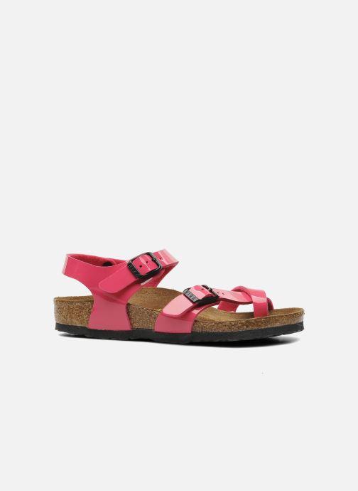 Sandali e scarpe aperte Birkenstock Taormina Birko-Flor Rosa immagine posteriore
