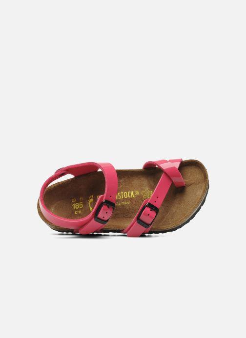 Sandales et nu-pieds Birkenstock Taormina Birko-Flor Rose vue gauche