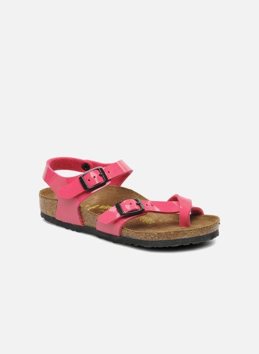 Sandales et nu-pieds Birkenstock Taormina Birko-Flor Rose vue détail/paire