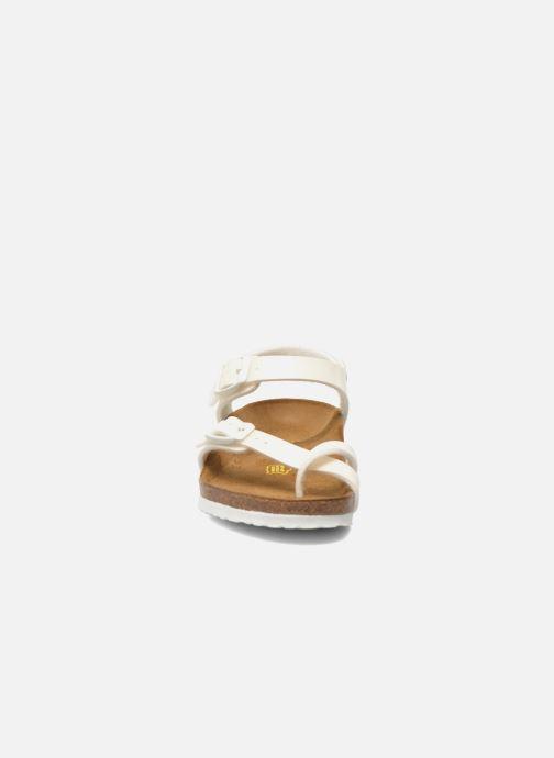 Sandals Birkenstock Taormina Birko-Flor White model view