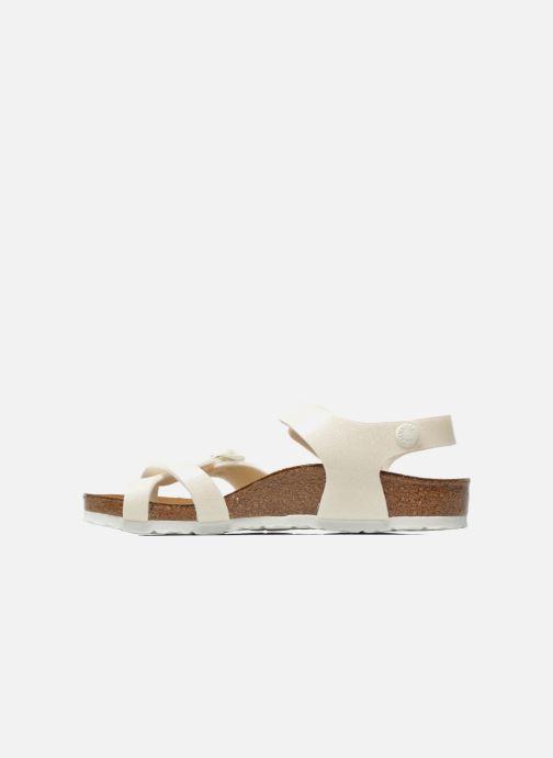 Sandalen Birkenstock Taormina Birko-Flor Wit voorkant