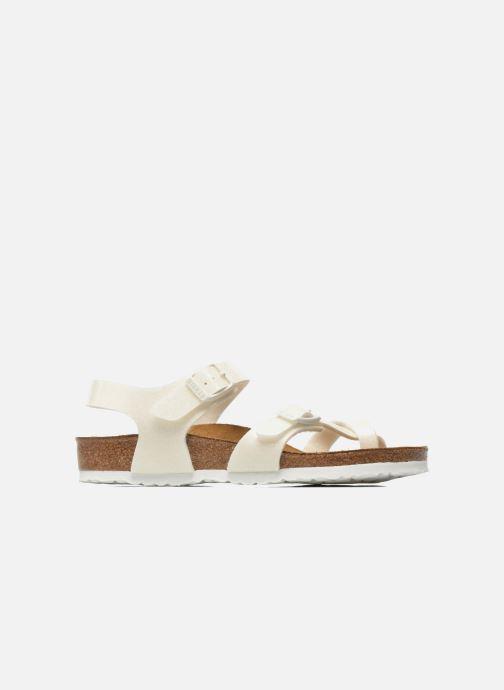 Sandals Birkenstock Taormina Birko-Flor White back view