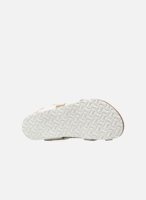 Sandalen Birkenstock Taormina Birko-Flor Wit boven