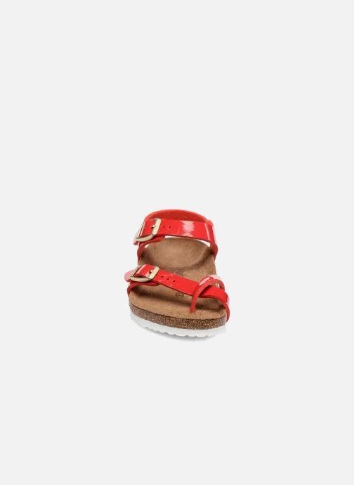 Sandalias Birkenstock Taormina Birko-Flor Rojo vista del modelo