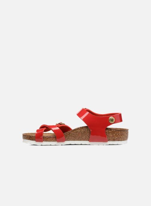 Sandales et nu-pieds Birkenstock Taormina Birko-Flor Rouge vue face