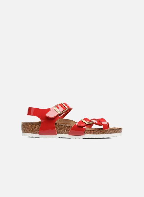 Sandales et nu-pieds Birkenstock Taormina Birko-Flor Rouge vue derrière